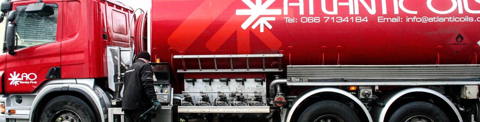 Oil truck